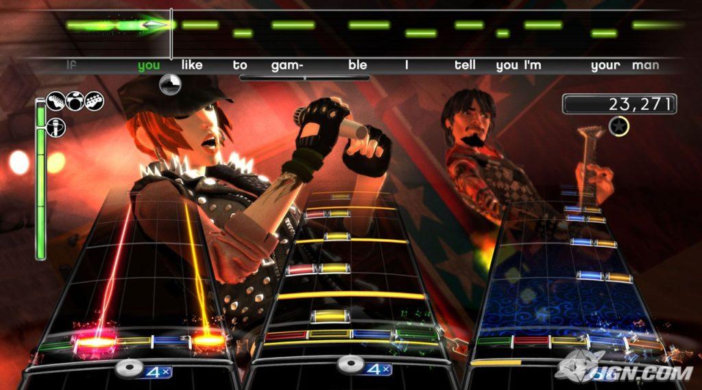 Guitar Hero WT vs Rock Band 2