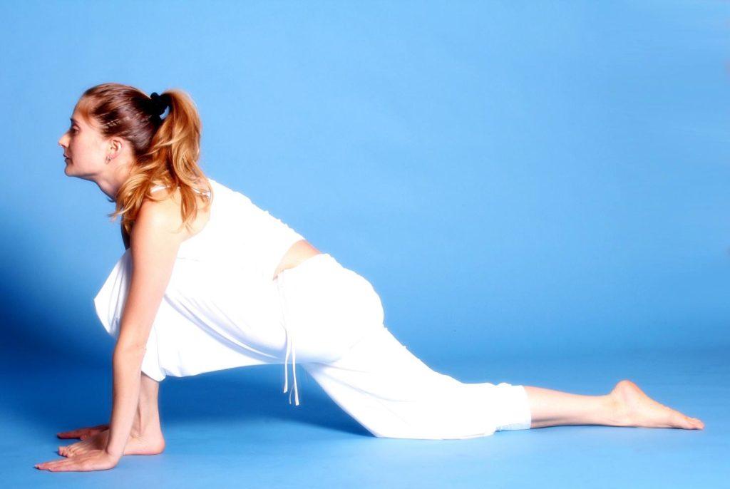 white yoga clothing