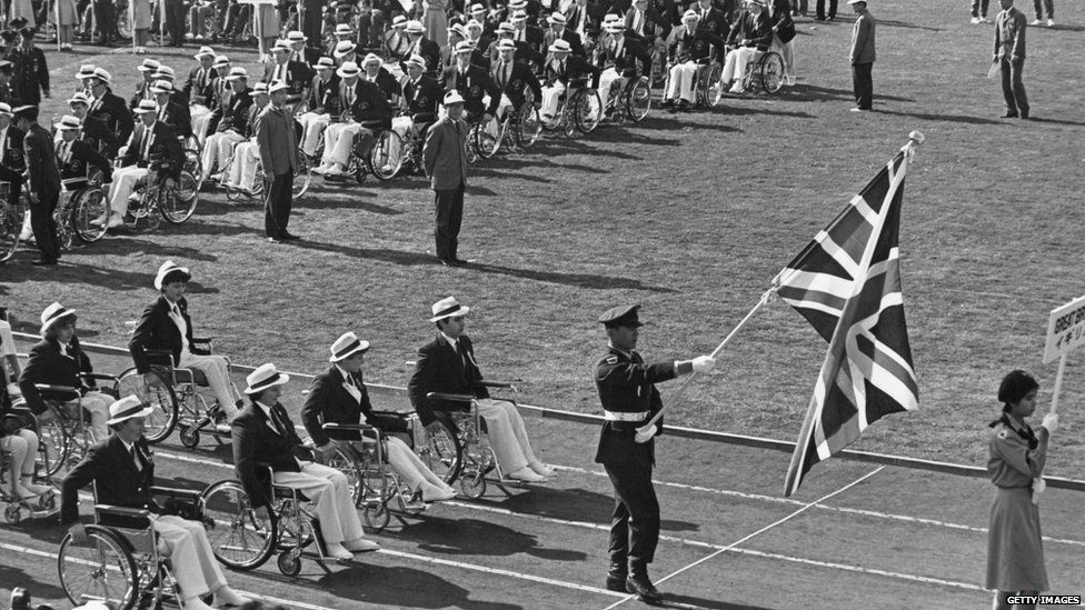 Brief history of Olympics for disabled people