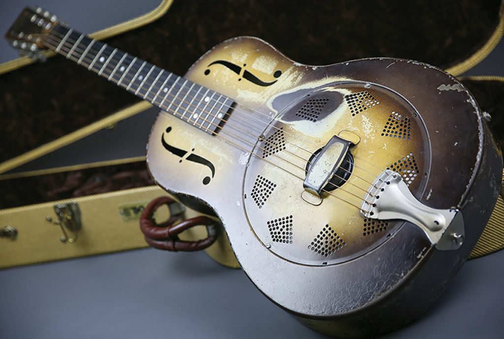 National Resonator (Steel) Guitar - development and history