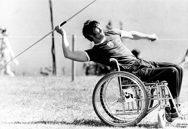 Olympics for disabled people