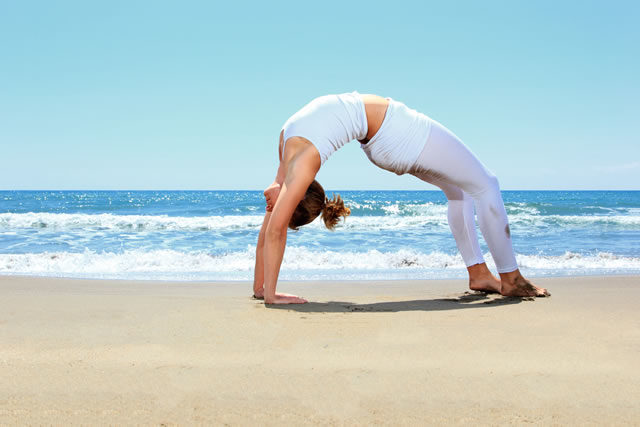 Secrets to perfect yoga poses