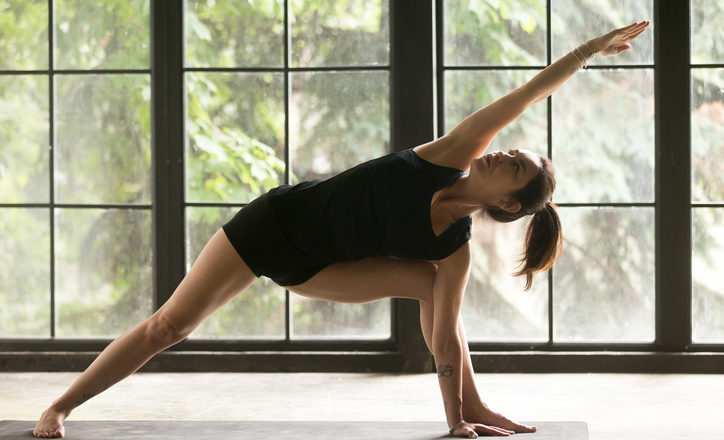 Do hot room yoga pose risks to body