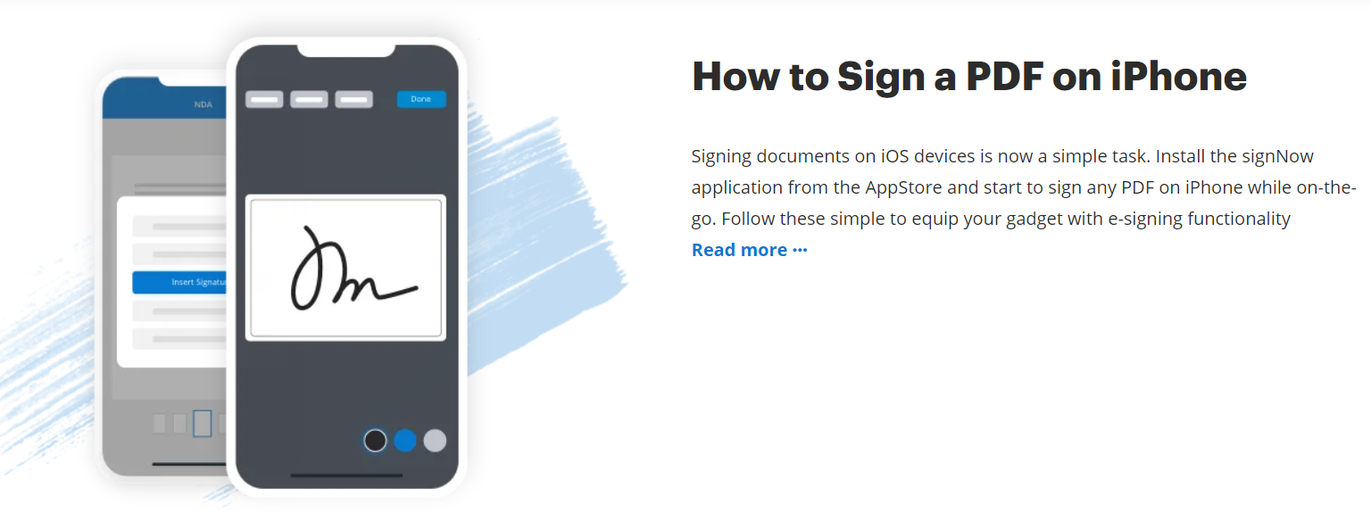 Novelty Electronic Signature Solutions with SignNow1