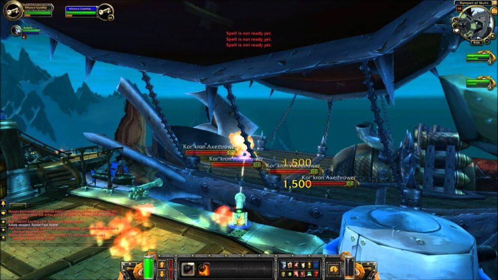 WoW Raid Bosses: The Icecrown Gunship Battle