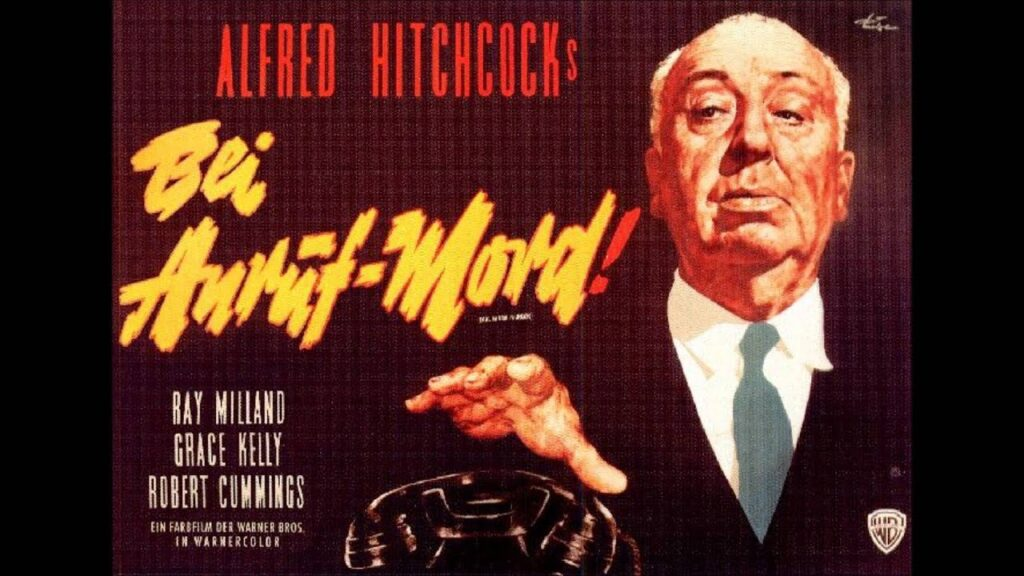 Alfred HItchcock and his popular films