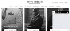 suits outlets