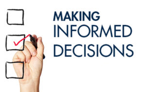 How to make informed decisions when day trading stocks