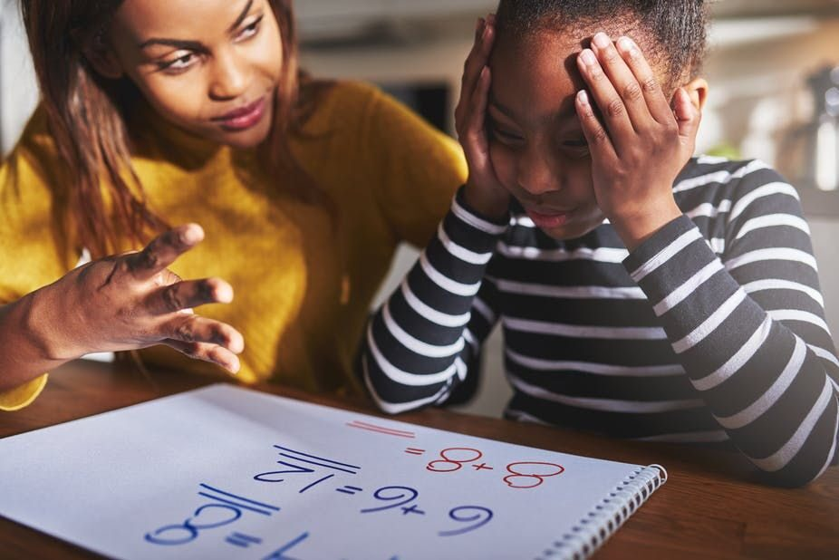 Warning signs for dyscalculia