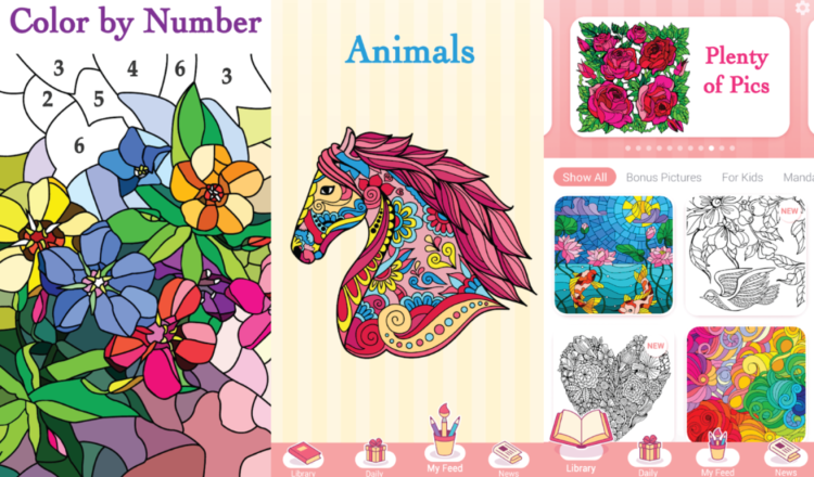 No color pencils? Best color by number apps for your phone