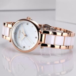 Mother of Pearl Analog Dial