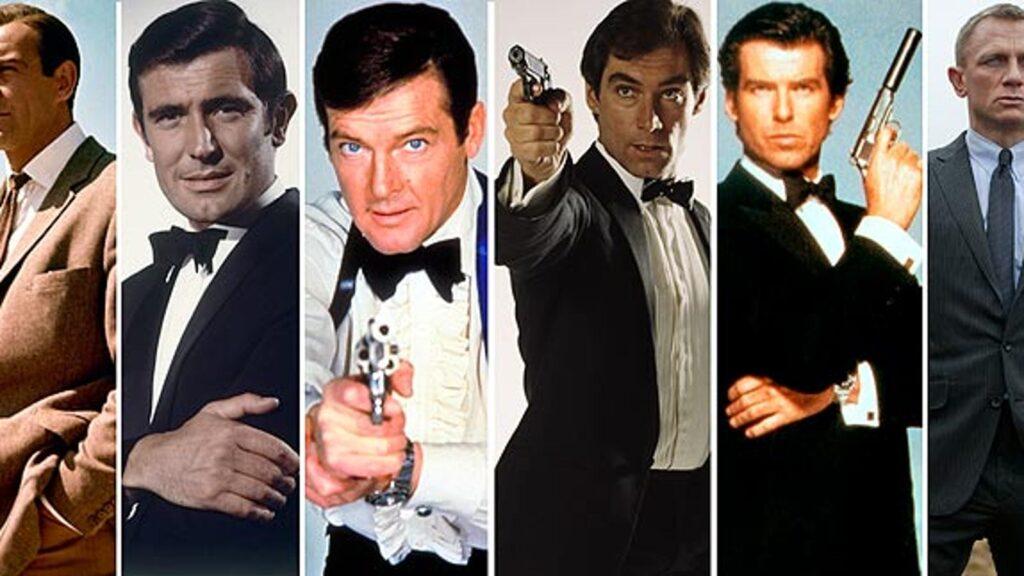 The actors of James Bond