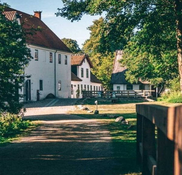 Esrum Abbey and Mill in North Zealand, Denmark